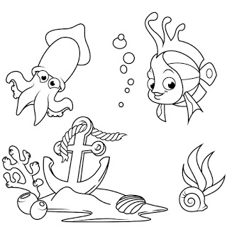 Fish Coloring Pages - Coloring Book For Kids | AndroidPIT