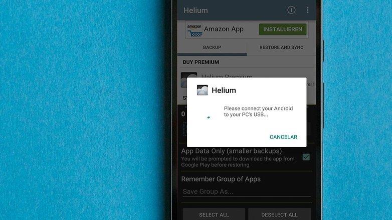 AndroidPIT BRA helium app
