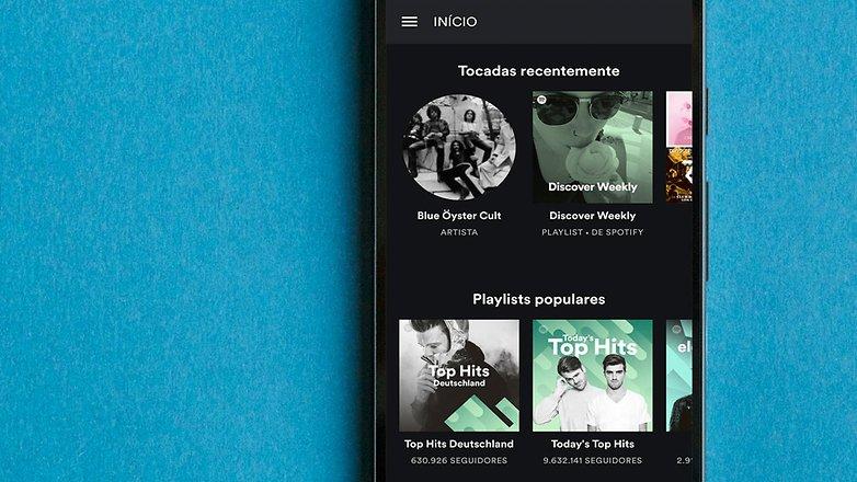 AndroidPIT BRA spotify app