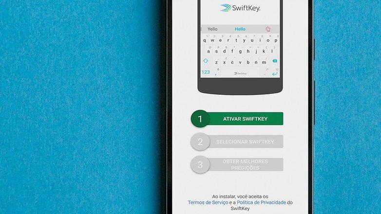 AndroidPIT BRA swiftkey app