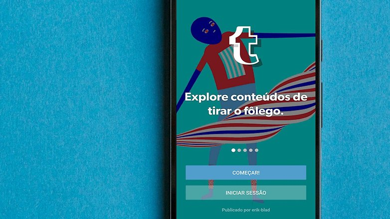 AndroidPIT BRA tumblr app