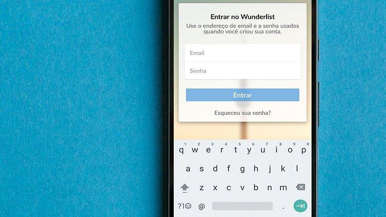 AndroidPIT BRA wunderlist app