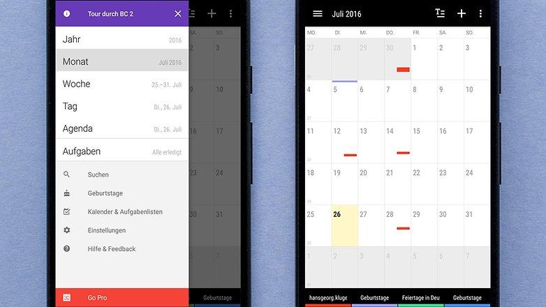 AndroidPIT DE business calendar 1