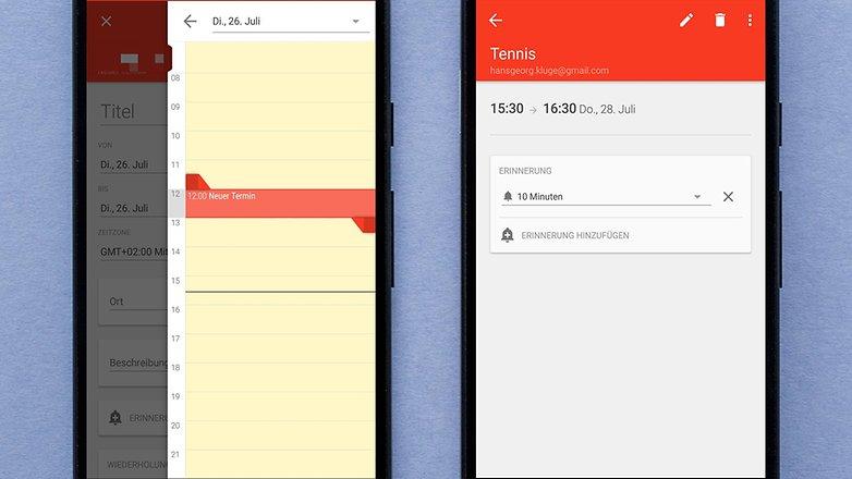 AndroidPIT DE business calendar 2