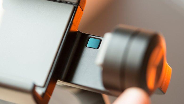 AndroidPIT DJI osmo mobile sensor