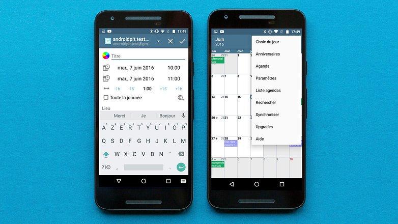 AndroidPIT FR a calendar 2