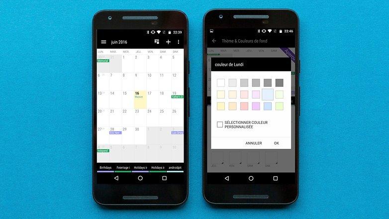 AndroidPIT FR business calendar 2