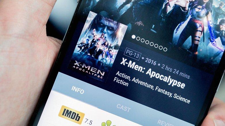 AndroidPIT Xmen imdb