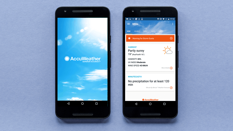 AndroidPIT accuweather app