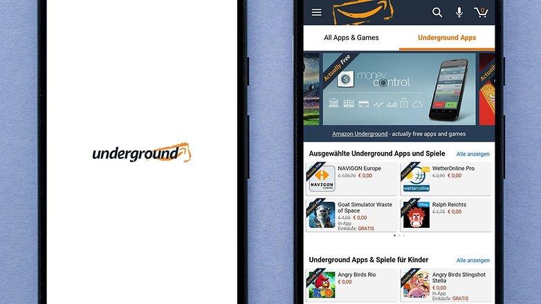 AndroidPIT amazon underground appstore