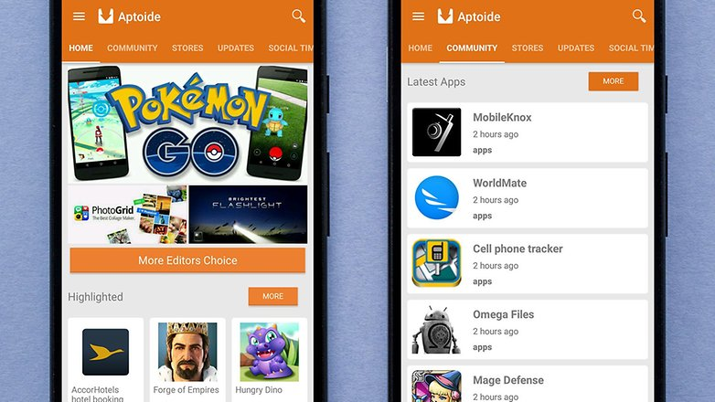 AndroidPIT aptoide appstore