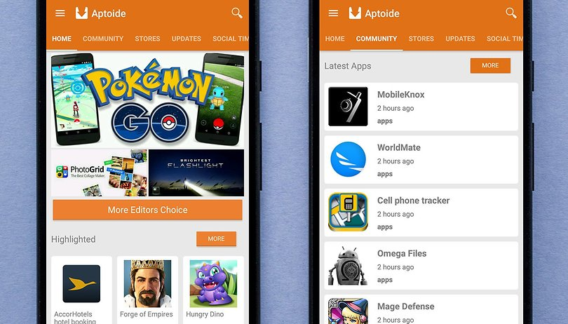 The 6 best Google Play Store alternatives | AndroidPIT