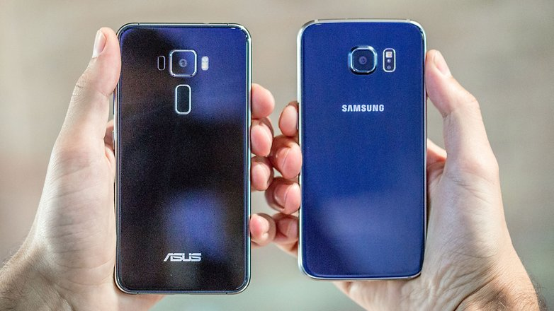 AndroidPIT asus zenphone 3 galaxy s7
