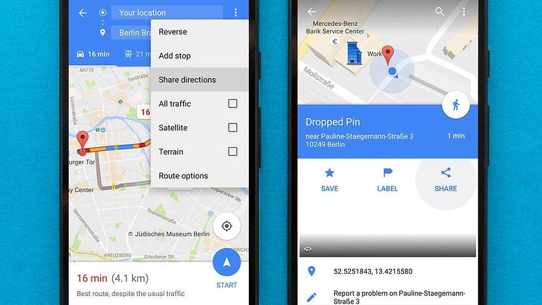 AndroidPIT Google Haritalar ipuçları ve püf noktaları 1