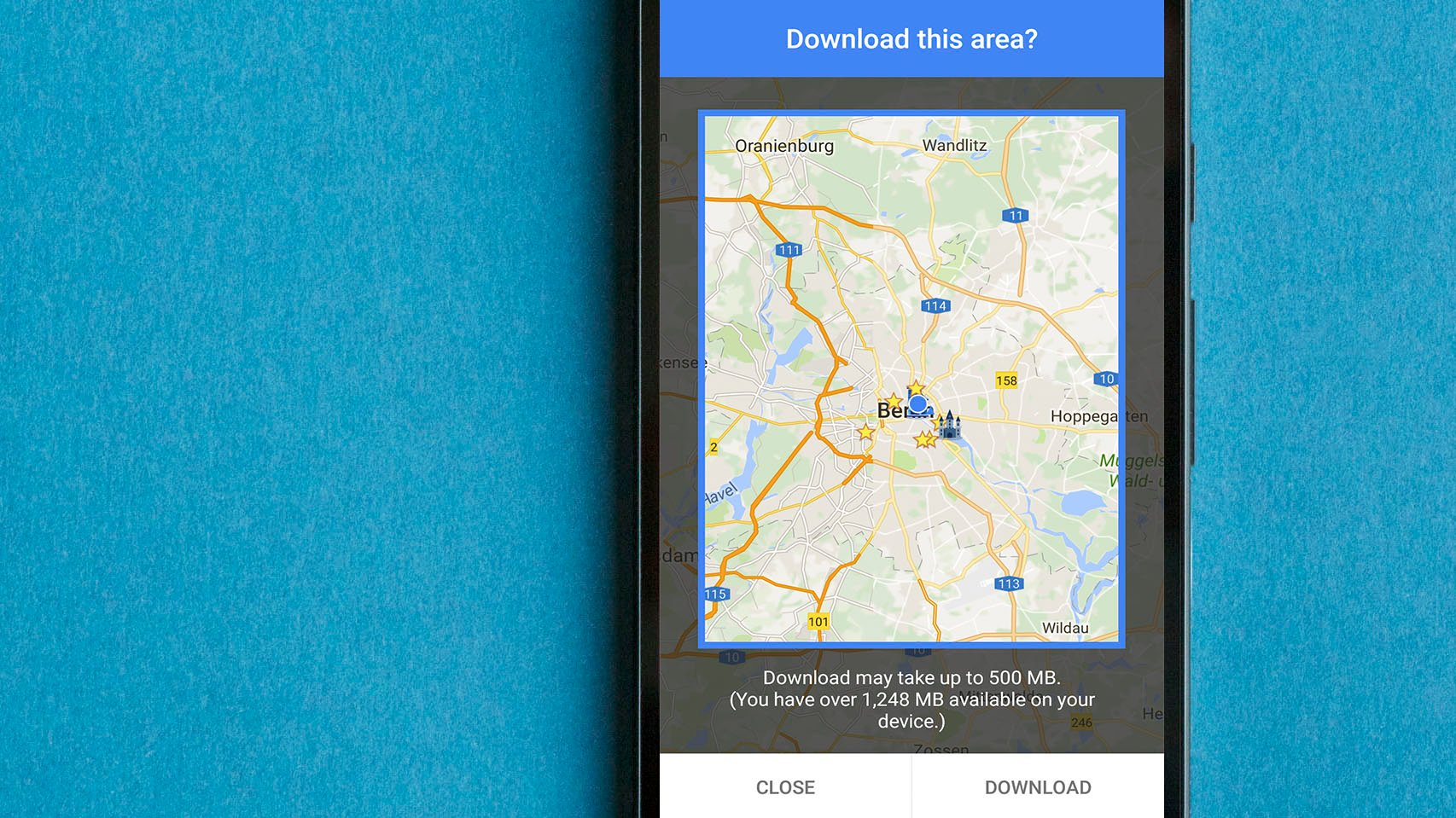 download directions google maps android