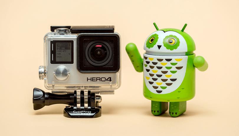 Uma câmera GoPro pode ficar mais divertida graças ao seu smartphone Android