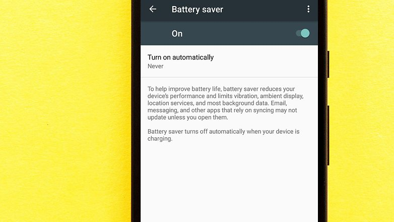 AndroidPIT how to safe battery life 4