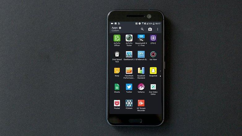 AndroidPIT htc 10 sense ui 2