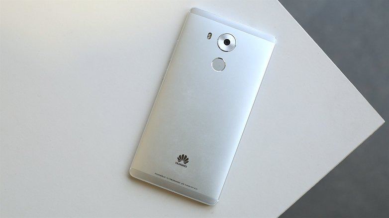 AndroidPIT huawei mate 8 back