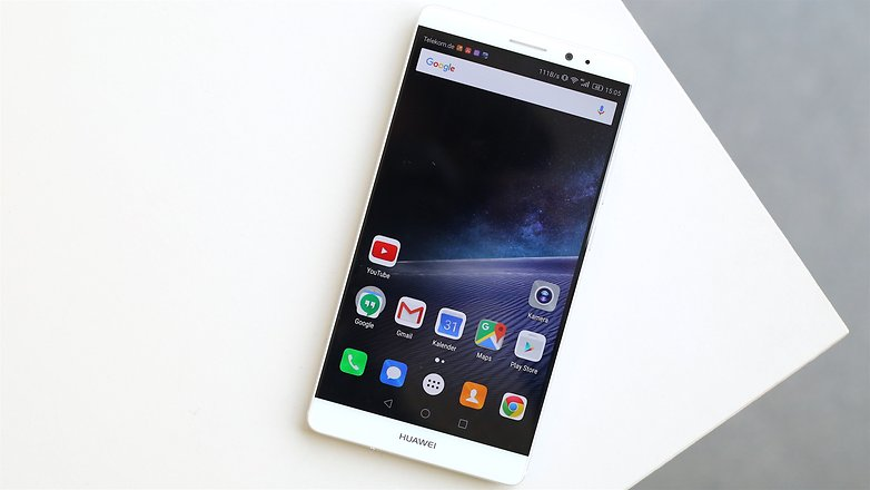 AndroidPIT huawei mate 8 screen