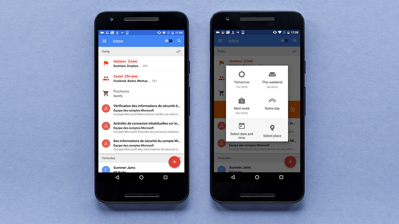 AndroidPIT inbox app