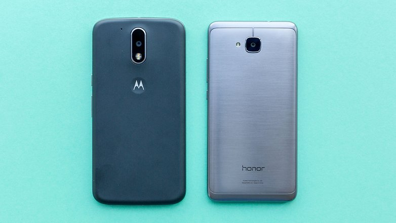 AndroidPIT lenovo moto g4 vs honor 5c comparison 1