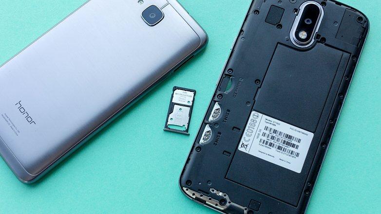 AndroidPIT lenovo moto g4 vs honor 5c comparison 8