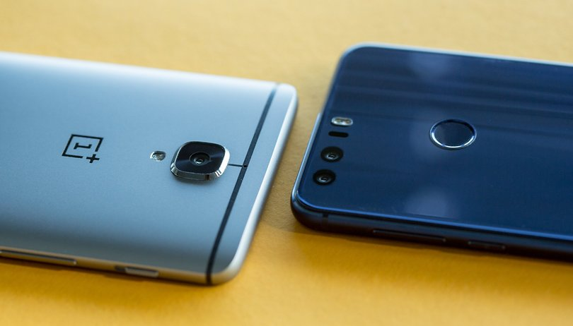 Honor 8 vs OnePlus 3: le tigri cinesi a confronto