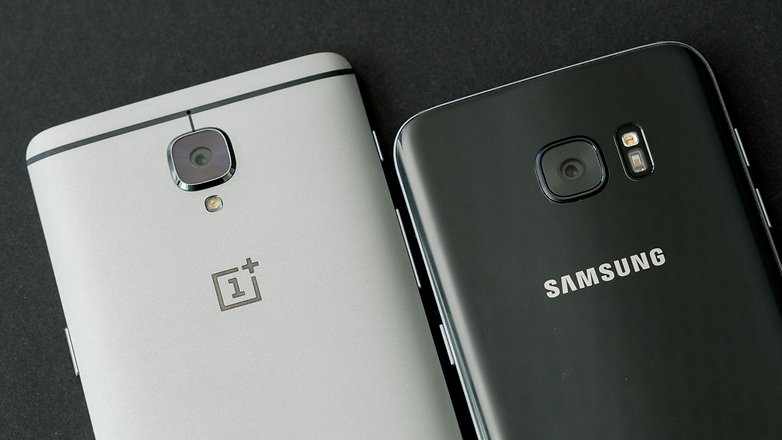 AndroidPIT oneplus 3 vs samsung galaxy s7 edge brands