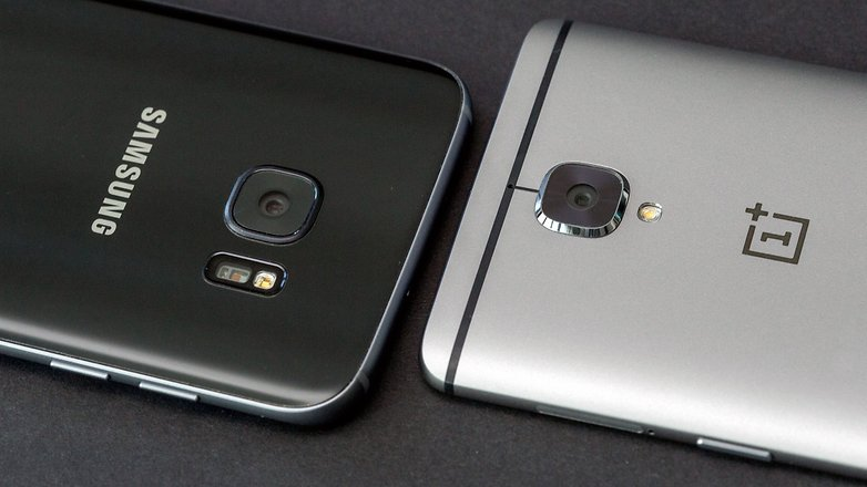 AndroidPIT oneplus 3 vs samsung galaxy s7 edge cameras