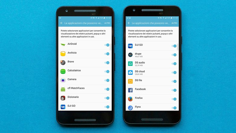 AndroidPIT overlay schermo rilevato 3