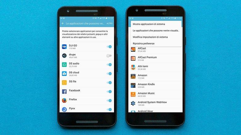 AndroidPIT overlay schermo rilevato 4