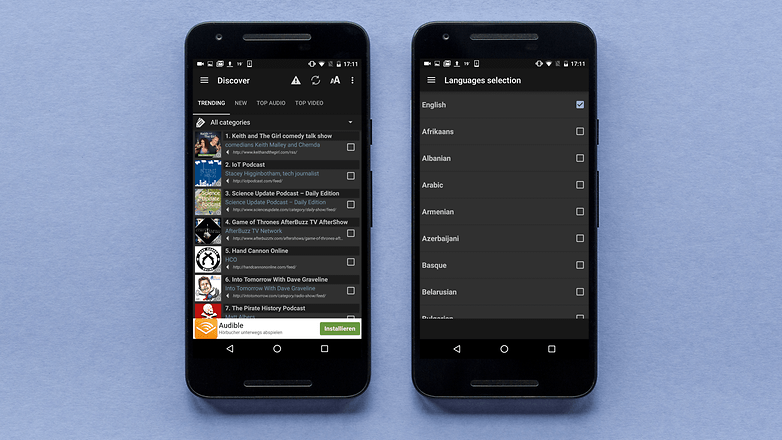 AndroidPIT podcast addict app