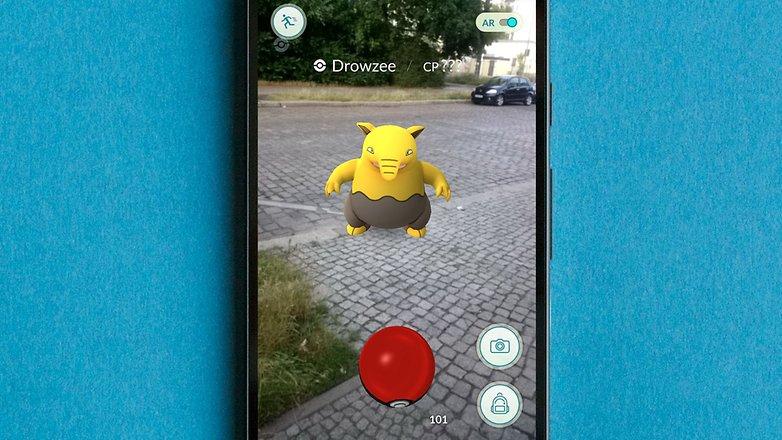 AndroidPIT pokemon app 1