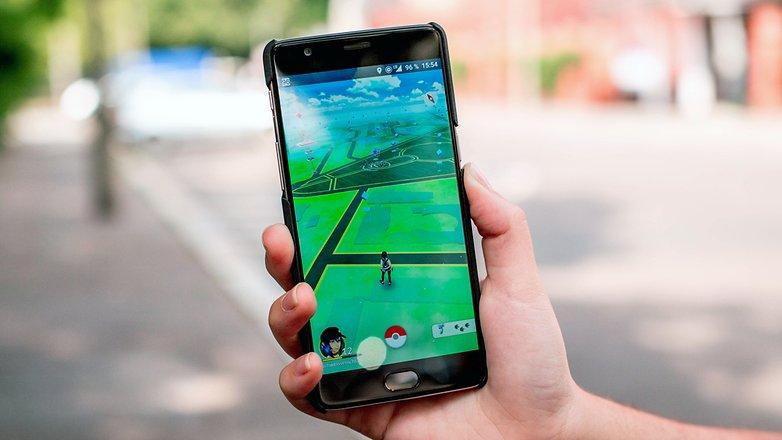 AndroidPIT pokemon go outside test 2