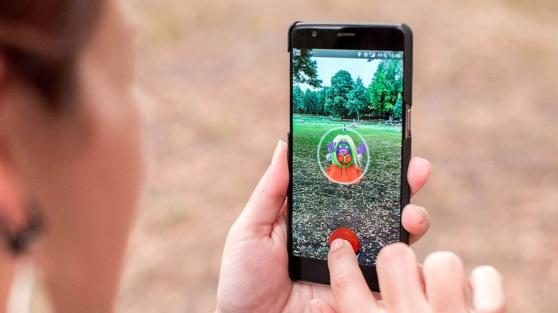 AndroidPIT pokemon go outside test 20