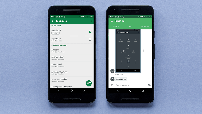 AndroidPIT pushbullet app