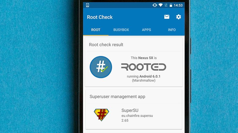 AndroidPIT root check app how to root