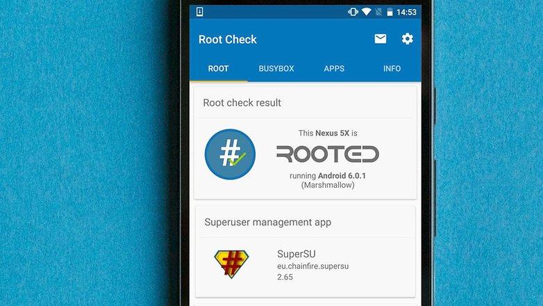 Aplikasi cek root AndroidPIT cara melakukan root