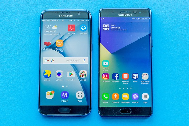 AndroidPIT samsung galaxy note7 samsung galaxy s7 edge comparison 1