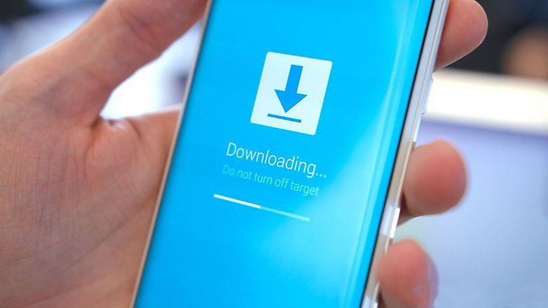 AndroidPIT samsung galaxy s6 edge download mode