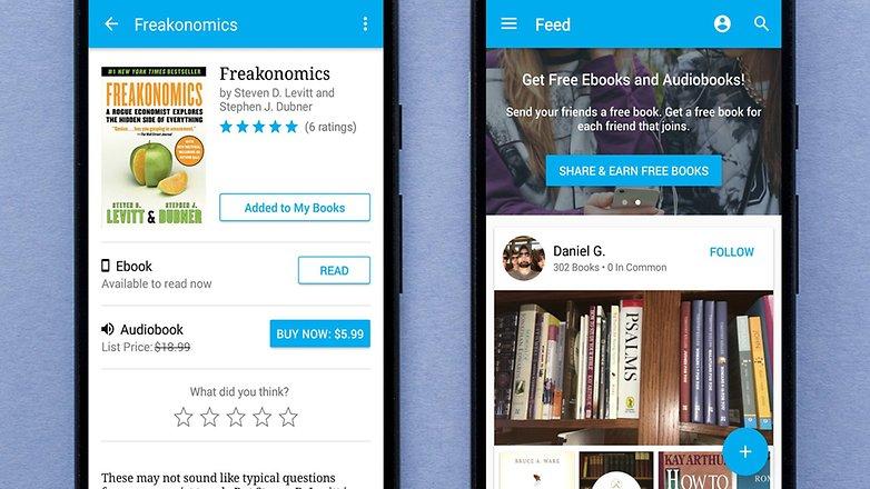 AndroidPIT shelfie app 1