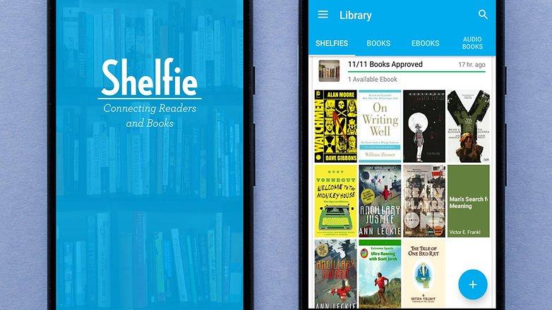 AndroidPIT shelfie app 2 2