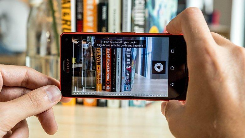 AndroidPIT shelfie app 3