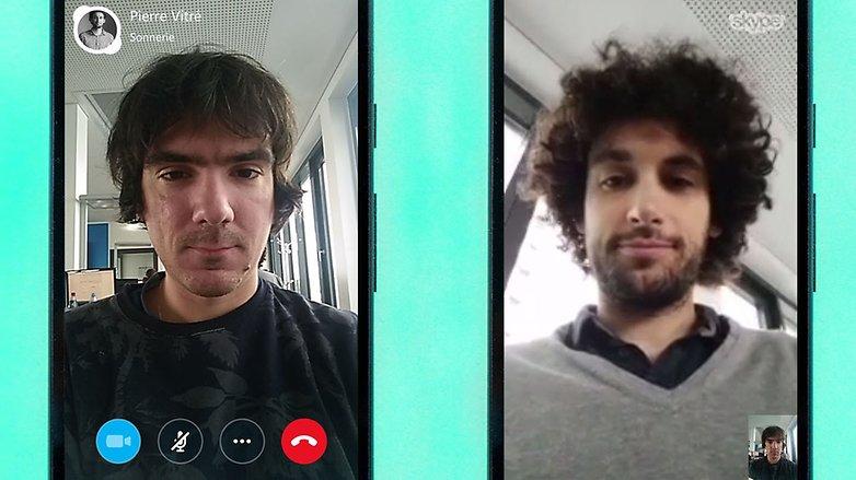 AndroidPIT skype app 1