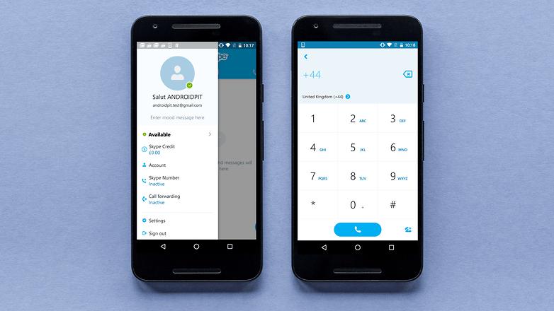 AndroidPIT skype app