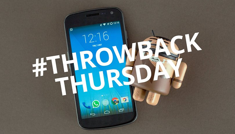#ThrowbackThursday: Galaxy Nexus fue mi puerta a Android
