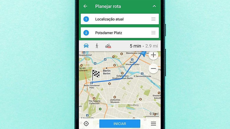 AndroidPIT top gps offline here maps