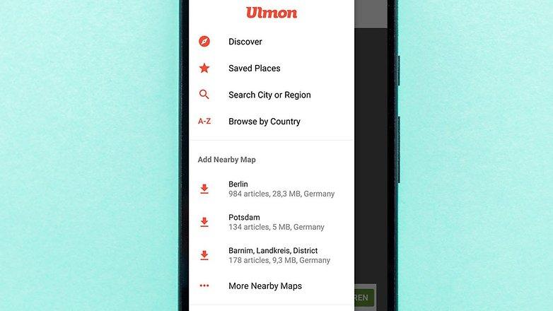 AndroidPIT top gps offline ulmon
