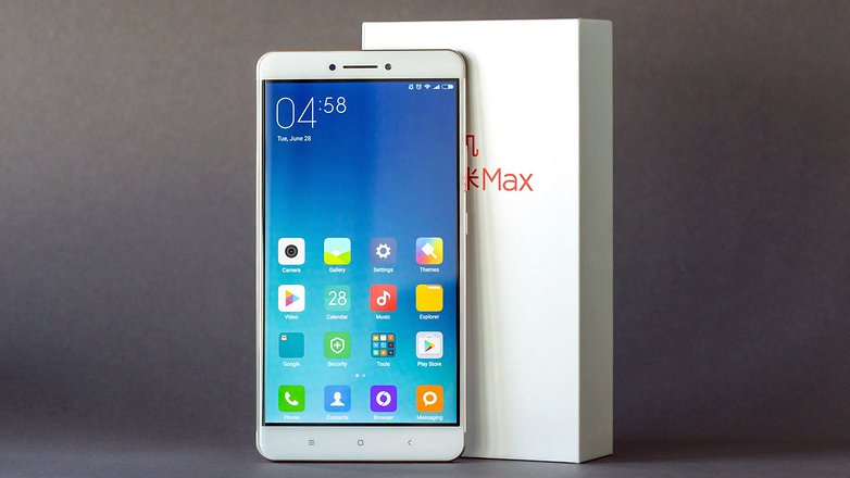 AndroidPIT xiaomi mi max front